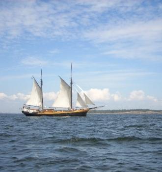 Marita Suomenlahden saaristossa